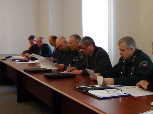 На комиссии обсуждались вопросы подготовки и проведения организациями и силовыми структурами города профилактических...